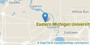 Location of Eastern Michigan University