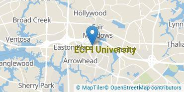 Location of ECPI University