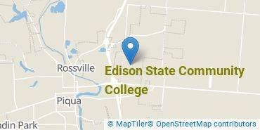 Location of Edison State Community College