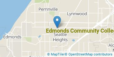 Location of Edmonds Community College