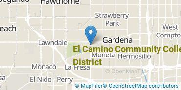Location of El Camino Community College District