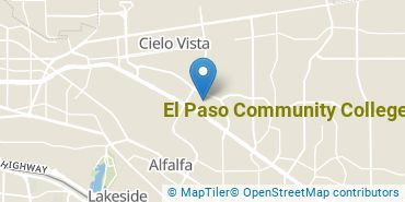 Location of El Paso Community College