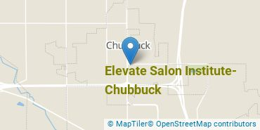 Location of Elevate Salon Institute - Chubbuck