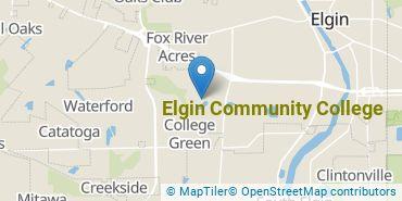Location of Elgin Community College