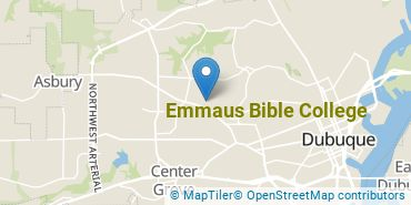 Location of Emmaus Bible College