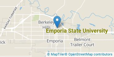 Location of Emporia State University