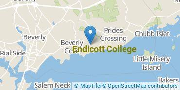 Location of Endicott College