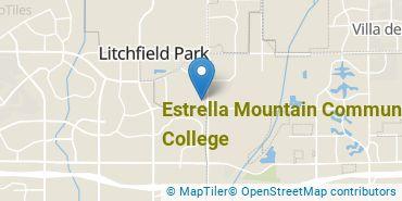 Location of Estrella Mountain Community College