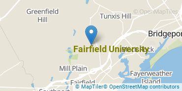 Location of Fairfield University