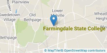 Location of Farmingdale State College