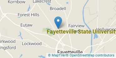 Location of Fayetteville State University