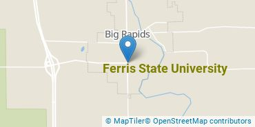 Location of Ferris State University