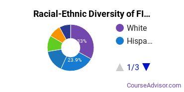 Racial-Ethnic Diversity of FIDM Los Angeles Undergraduate Students
