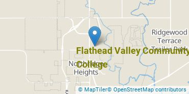 Location of Flathead Valley Community College