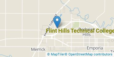 Location of Flint Hills Technical College