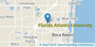 Location of Florida Atlantic University