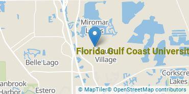 Location of Florida Gulf Coast University