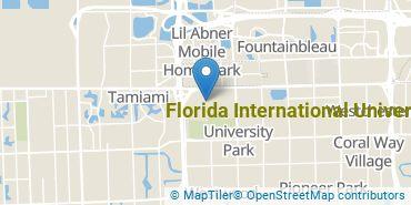 Location of Florida International University