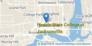 Location of Florida State College at Jacksonville