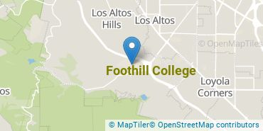 Location of Foothill College