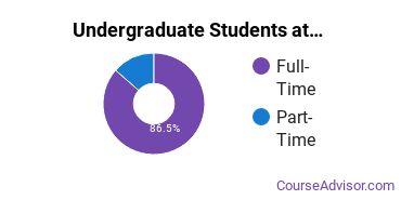 Full-Time vs. Part-Time Undergraduate Students at  FLC