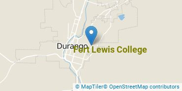 Location of Fort Lewis College