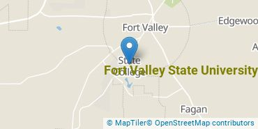 Location of Fort Valley State University