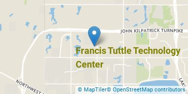 Location of Francis Tuttle Technology Center