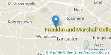 Location of Franklin and Marshall College