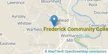 Location of Frederick Community College