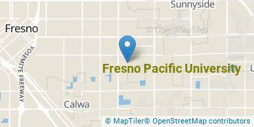 Location of Fresno Pacific University