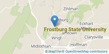 Location of Frostburg State University