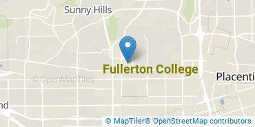Location of Fullerton College