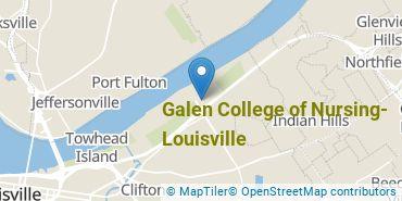 Location of Galen College of Nursing-Louisville