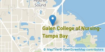 Location of Galen College of Nursing-Tampa Bay