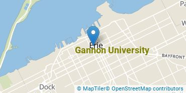 Location of Gannon University