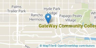 Location of GateWay Community College - Phoenix