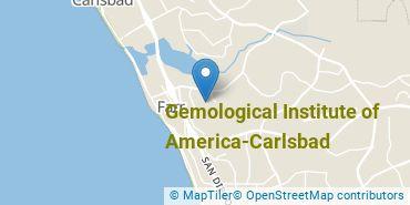 Location of Gemological Institute of America-Carlsbad