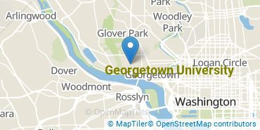 Location of Georgetown University