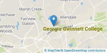 Location of Georgia Gwinnett College