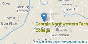 Location of Georgia Northwestern Technical College