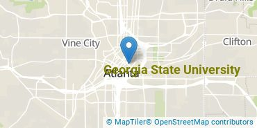 Location of Georgia State University