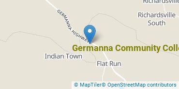 Location of Germanna Community College