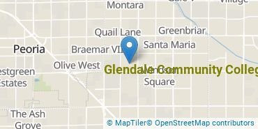 Location of Glendale Community College
