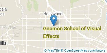 Location of Gnomon School of Visual Effects