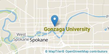 Location of Gonzaga University