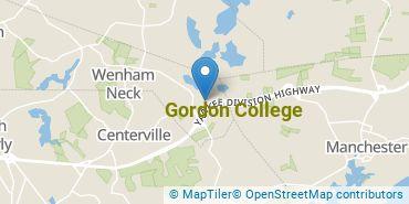 Location of Gordon College