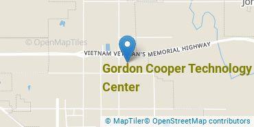 Location of Gordon Cooper Technology Center