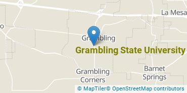 Location of Grambling State University