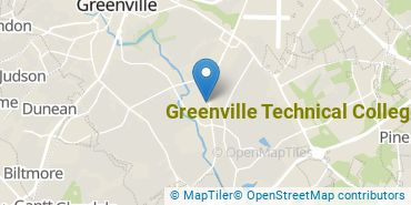 Location of Greenville Technical College